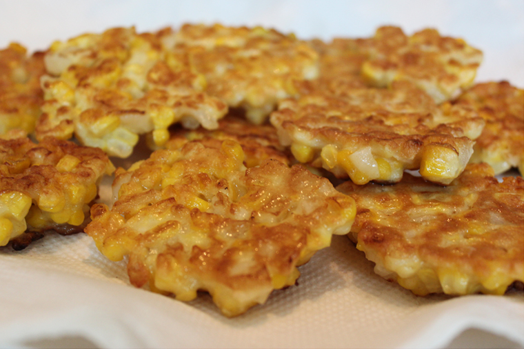 Crispy Corn Fritters Recipe — Dishmaps