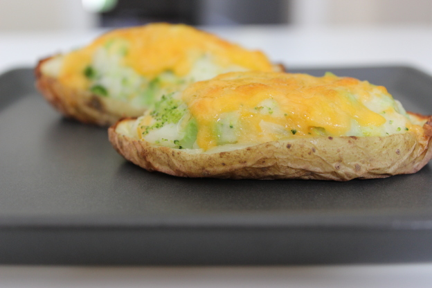 Tuna Melt Potato Skins Recipe — Dishmaps